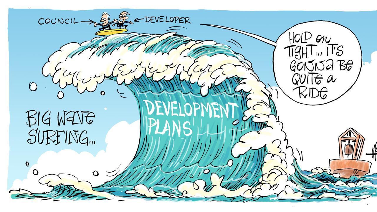 Harry's view on Surf Lakes Yeppoon development.