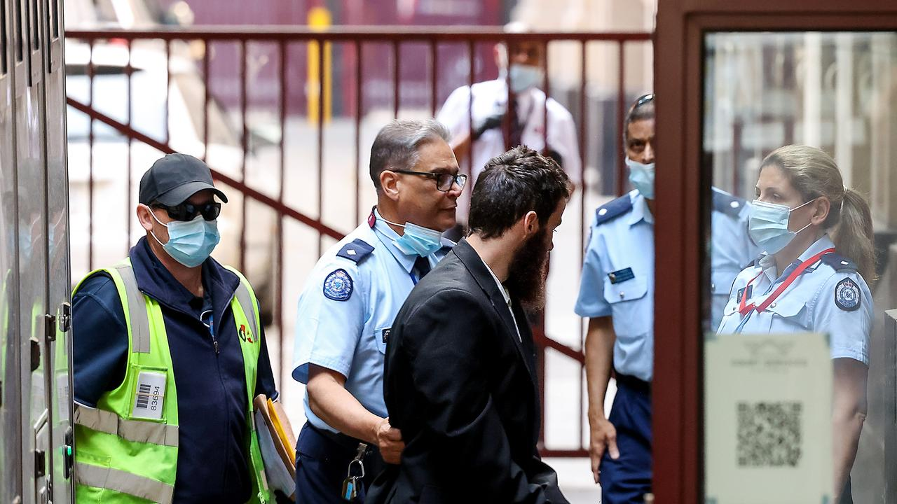 Joseph McDonald left the Supreme Court of Victoria in a prison van on Tuesday. Picture: NCA NewsWire / Ian Currie