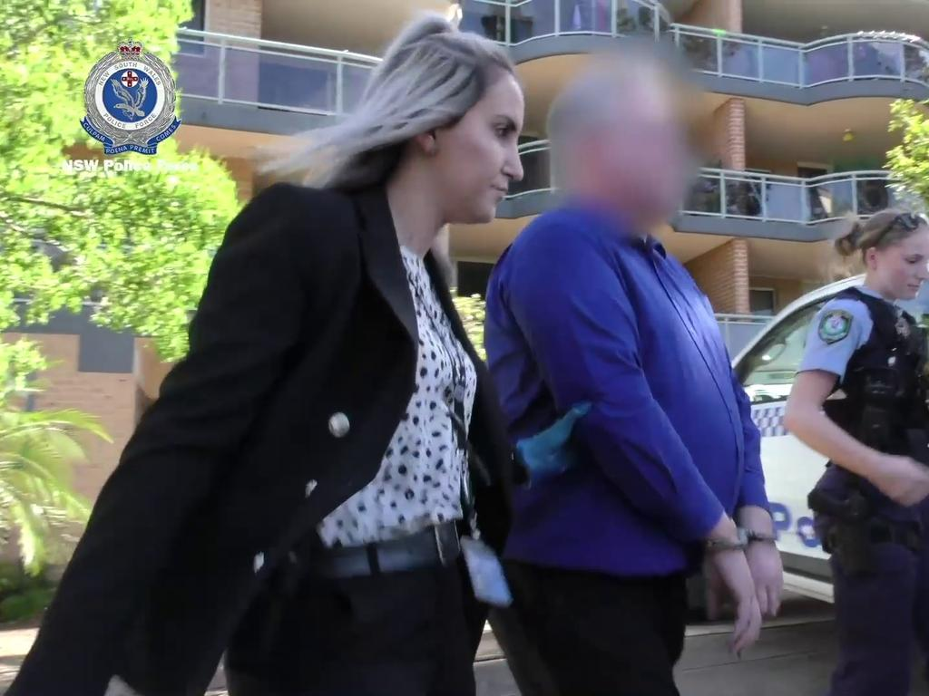 The teacher had been held in custody for a week. Picture: NSW Police