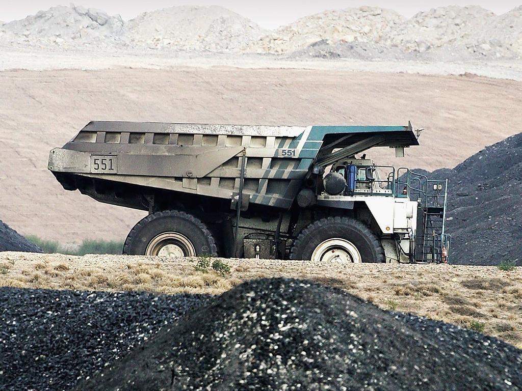 A coal truck in Australia. Picture: Supplied