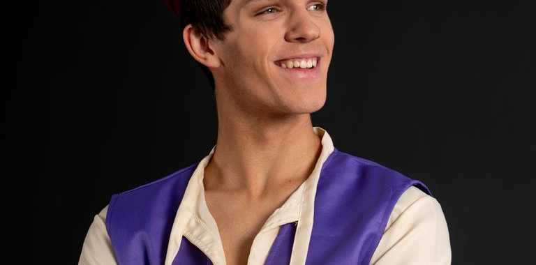 Take a magic carpet ride with Ryley Grgic, as Aladdin, who returns to the Empire Theatre stage this weekend.
