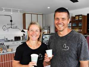 Adventure lovers open coffee shop in beachside town