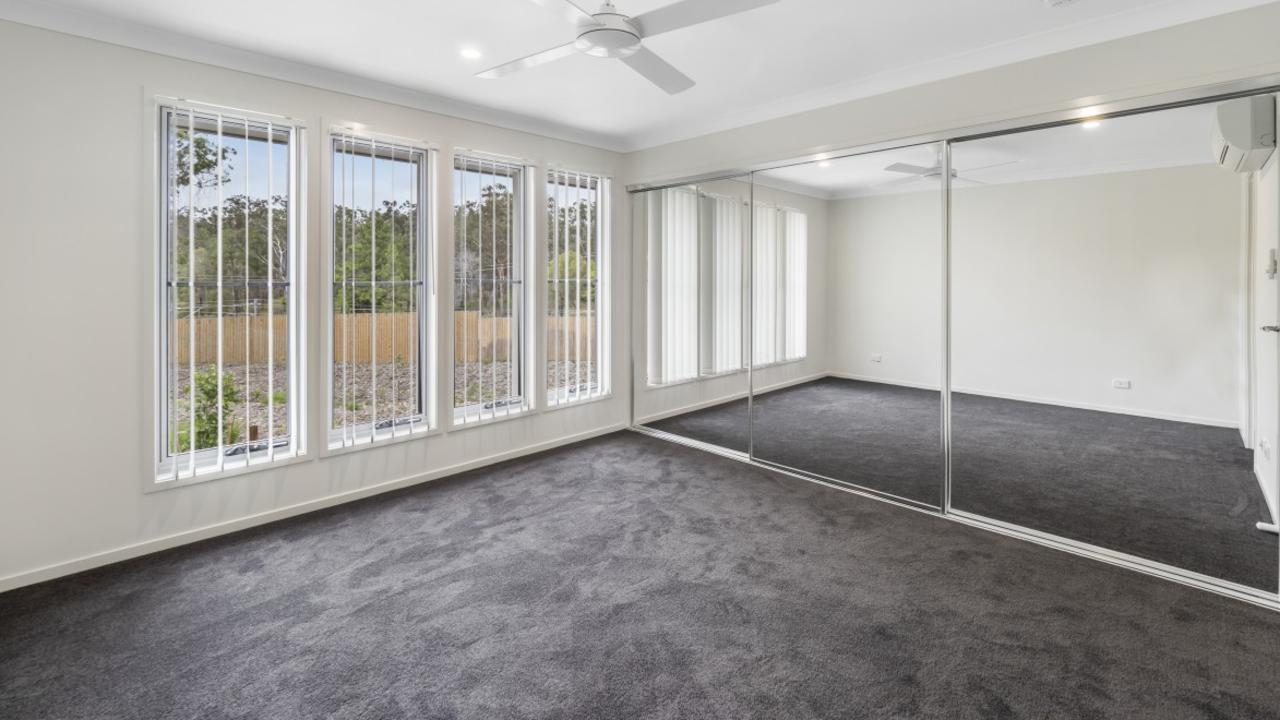 Artist impressions of potential bedroom designs for Lakeside Vista estate.