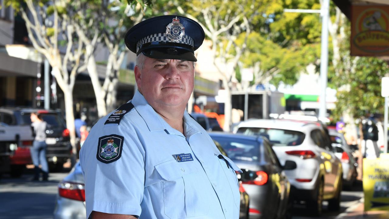 Gympie police senior sergeant Gregg Davey.