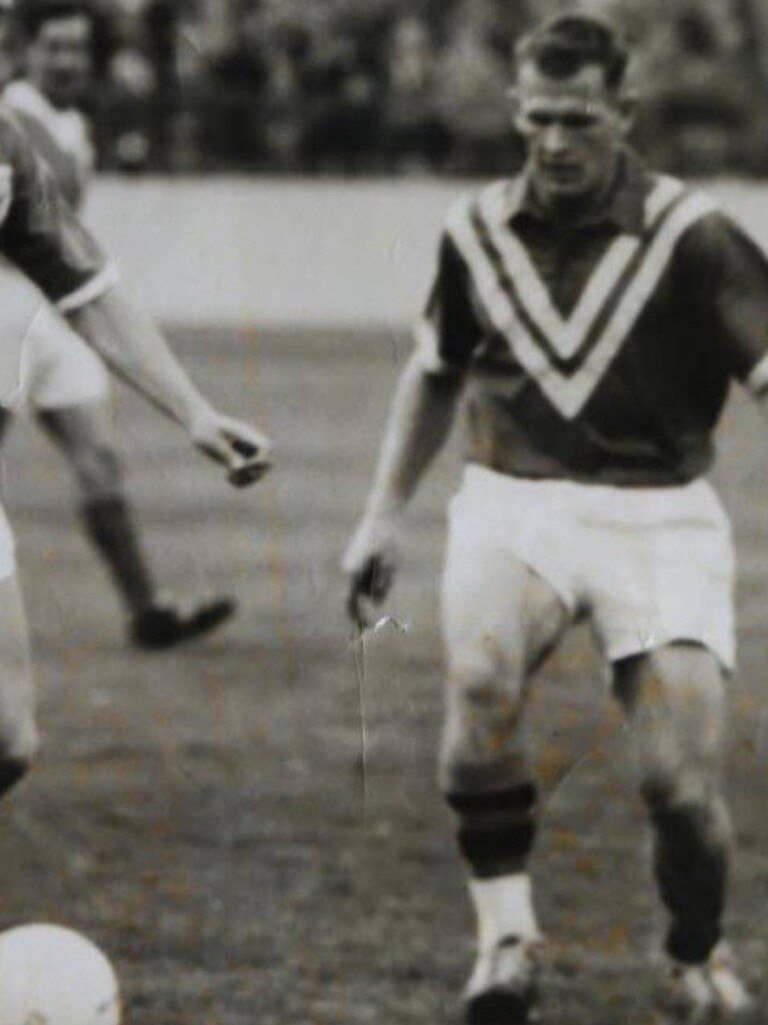 Ipswich football great Spencer Kitching