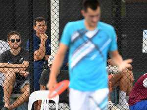 Tough times for Tomic