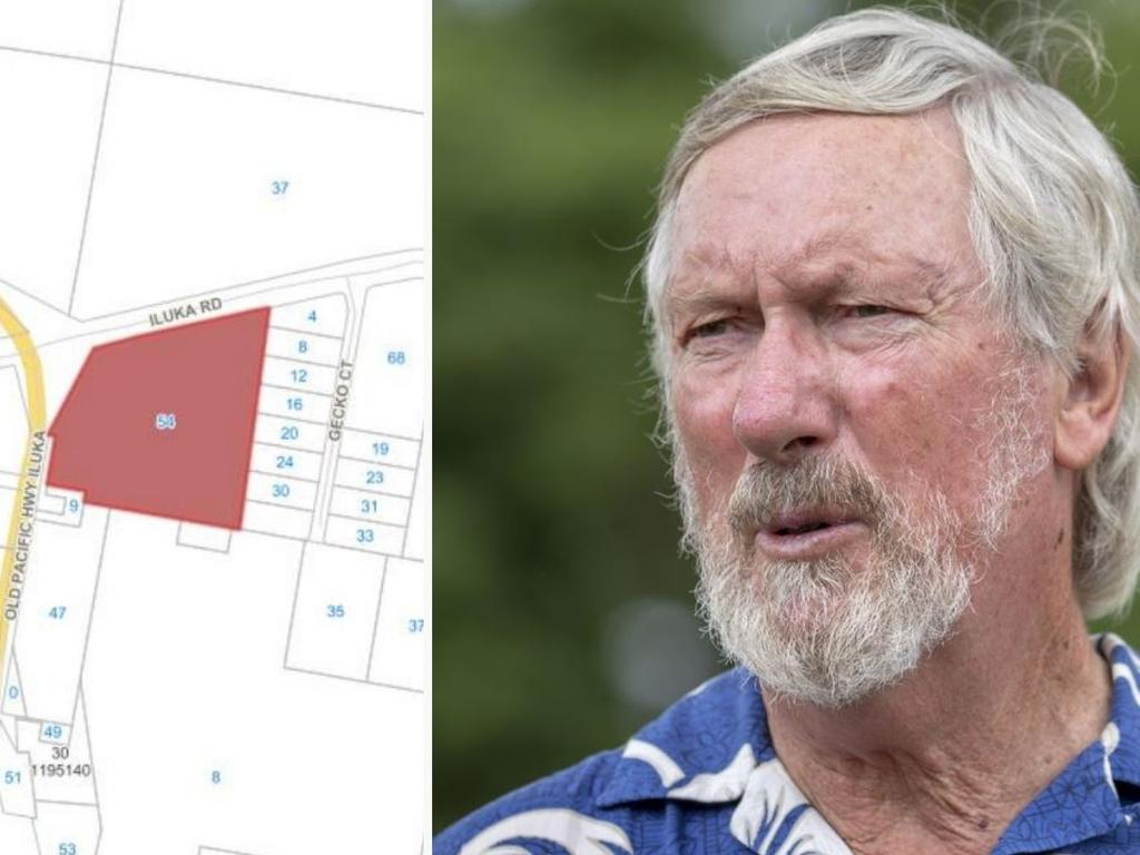 Clarence Valley councillor Greg Clancy has objected to the Woombah Woods proposal.