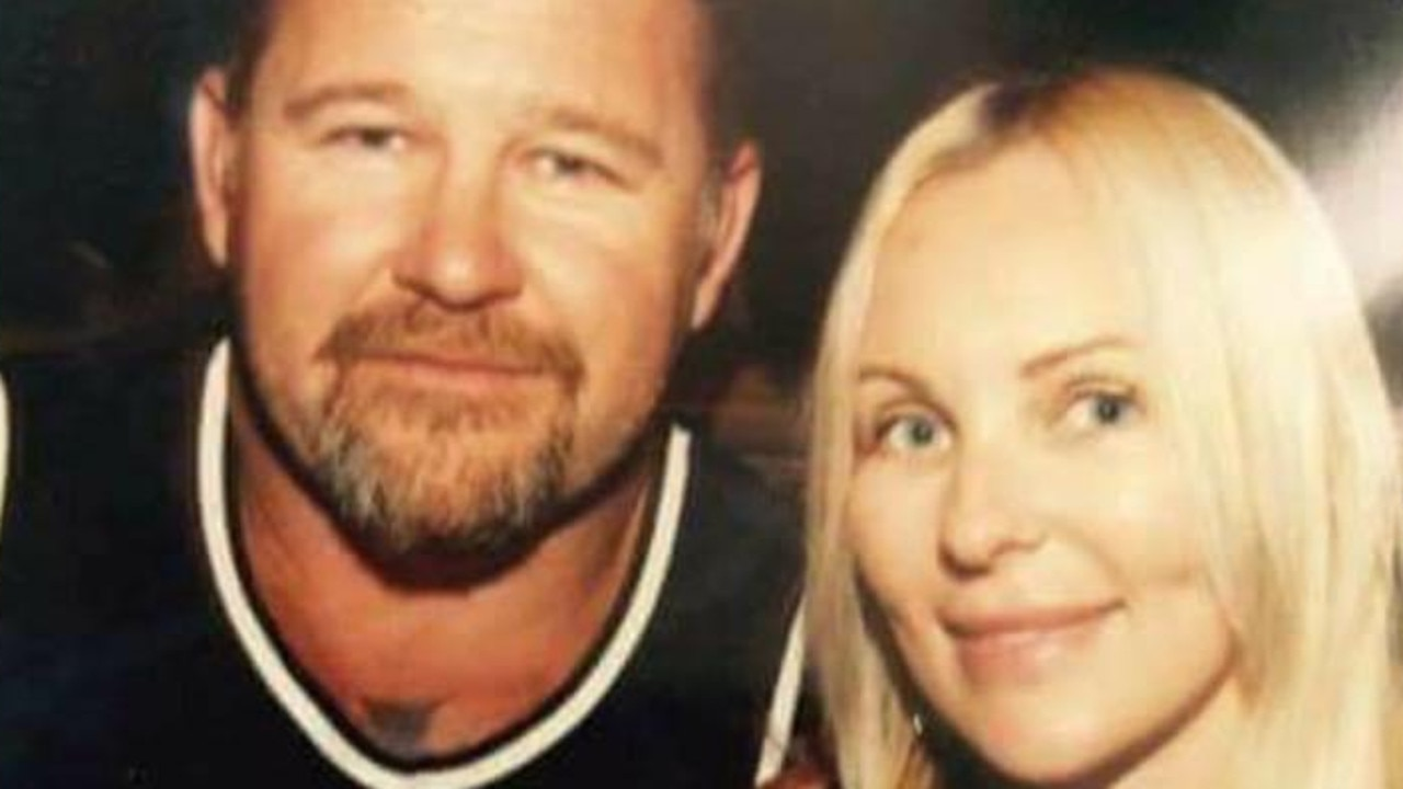 Nick Martin was killed in front of his wife Amanda. Source: Supplied