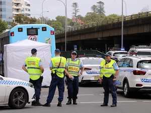 Woman dies after being hit by Bondi bus