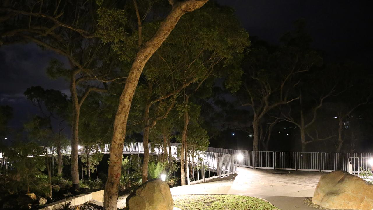NIGHT LIGHTS: Mount Archer's Nurim Circuit has benefited from the installation of new lighting, which was one of several upgrades to the summit's infrastructure.