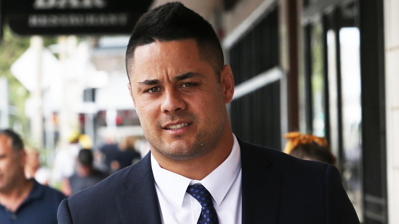 Former star rugby league player Jarryd Hayne is facing sexual assault. charges Picture NCA NewsWire / Peter Lorimer.