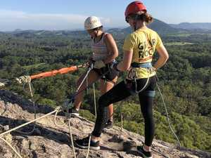 Coast thrillseekers sign up for world's highest abseil