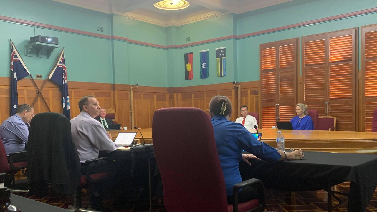 Rockhampton Regional Council convened for a meeting without Mayor Margaret Strelow who resigned in shock circumstances. Picture: News Regional Media