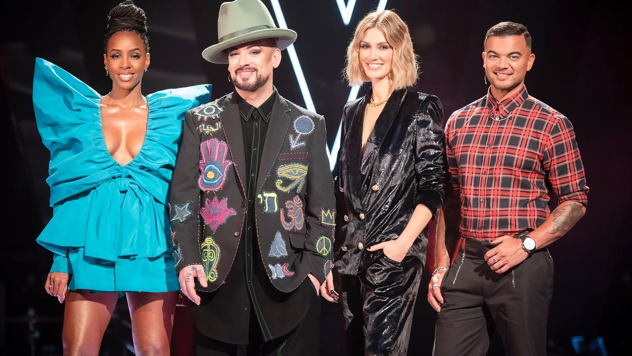Kelly Rowland, Boy George and Delta Goodrem are gone while Guy Sebastian remains.