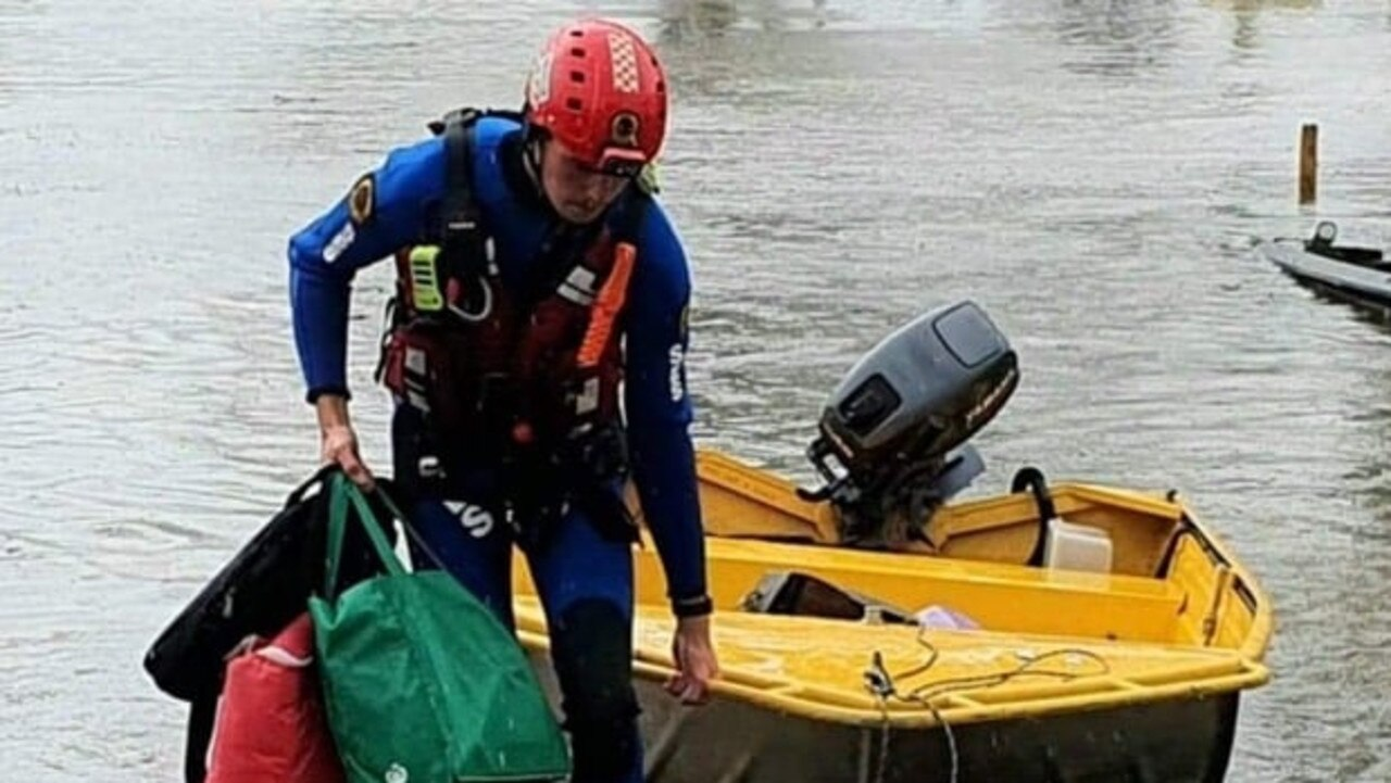 SWIFT RESCUE: SES Ballina swiftwater rescue technician members assisted SES Lismore helping to rescue residents stranded by rising water in Lismore on Wednesday.
