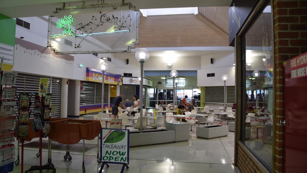 The food court at Kern Arcade. Picture: Vanessa Jarrett
