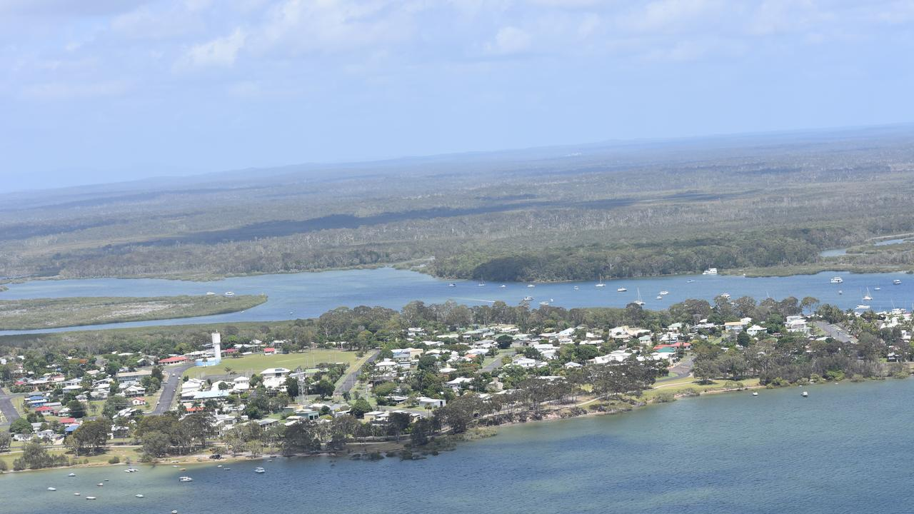 Tin Can Bay aerial