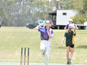 GALLERY: All female cricket clinic showcases future stars