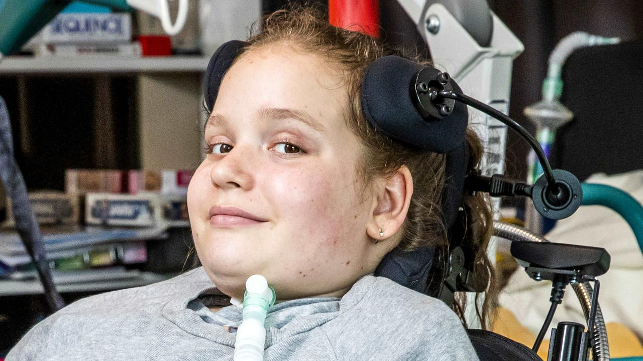 "An 11-year-old tetraplegic girl on a ventilator is unable to return home from hospital for Christmas due to ""constant stalling"" with NDIS funding."