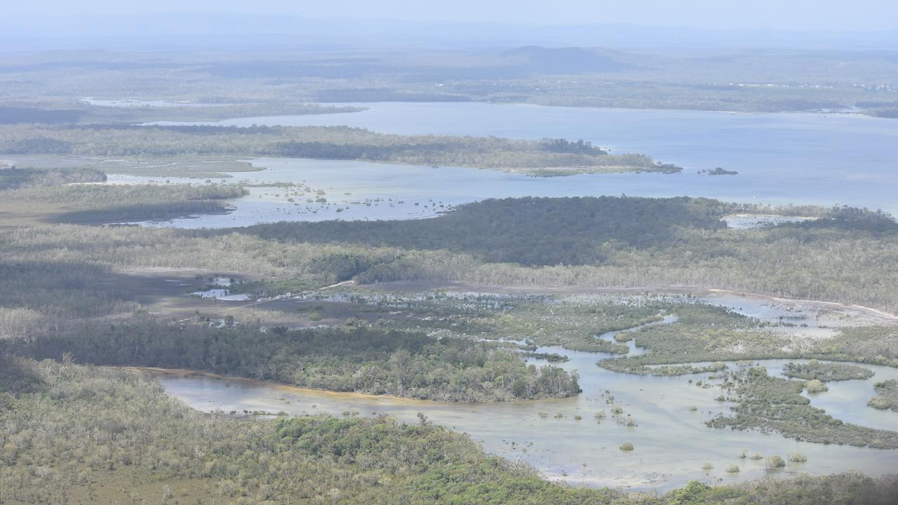 Thirty seven rotting, abandoned vessels have been identified on the Cooloola Coast.