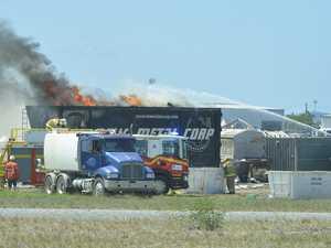 Smoke alert as six crews fight blaze in Paget workplace