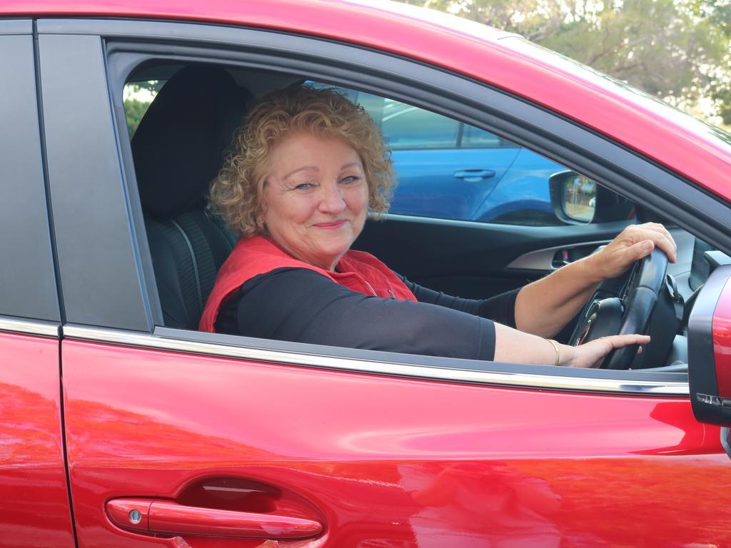 Susan Bell loves her work as an Uber driver.