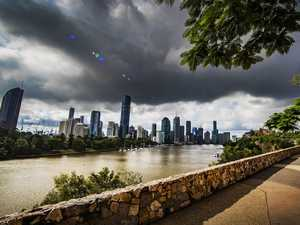 Rain, intense storms today after '180mm in hour' overnight