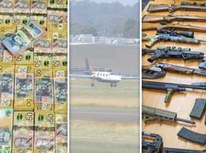 Guns, money, drugs hidden on light planes: cops
