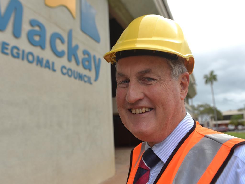 Mackay Regional Council Mayor Greg Williamson. Photo: Zizi Averill