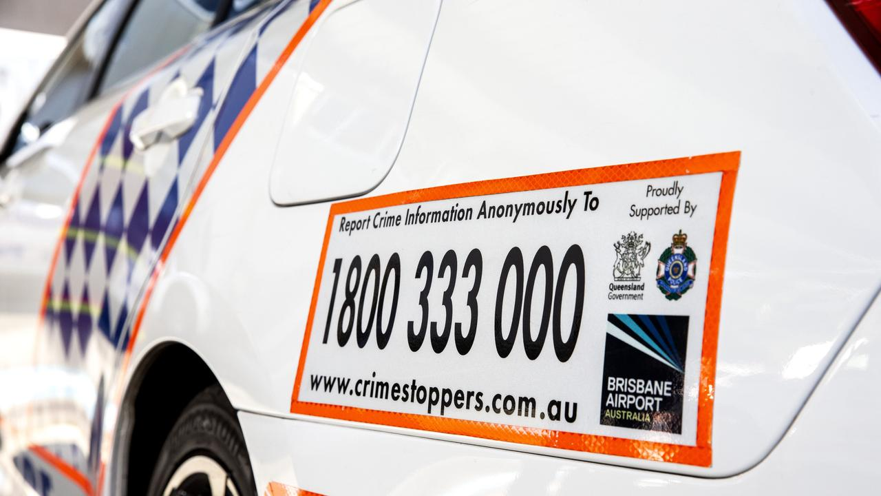General photographs of Queensland Police and Crimestoppers logo and livery, Thursday, July 18, 2019 (AAP Image/Richard Walker)