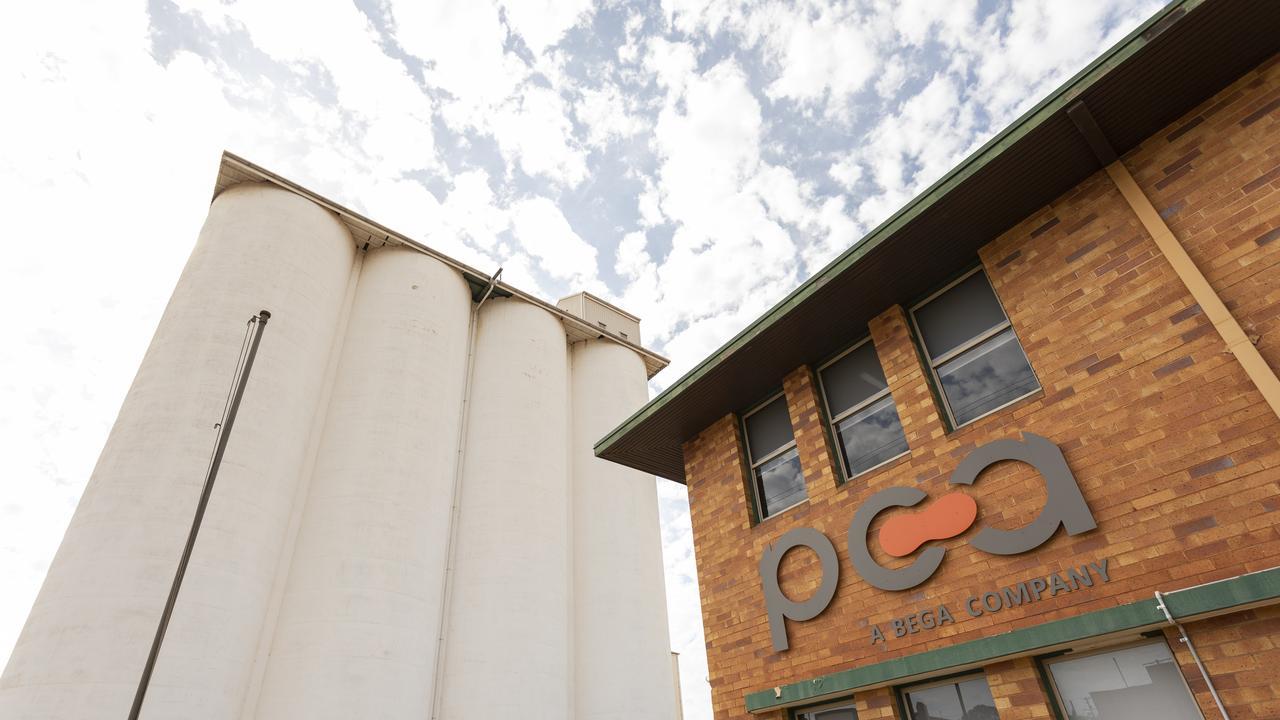 Peanut Company of Australia, Kingaroy Peanut Silos