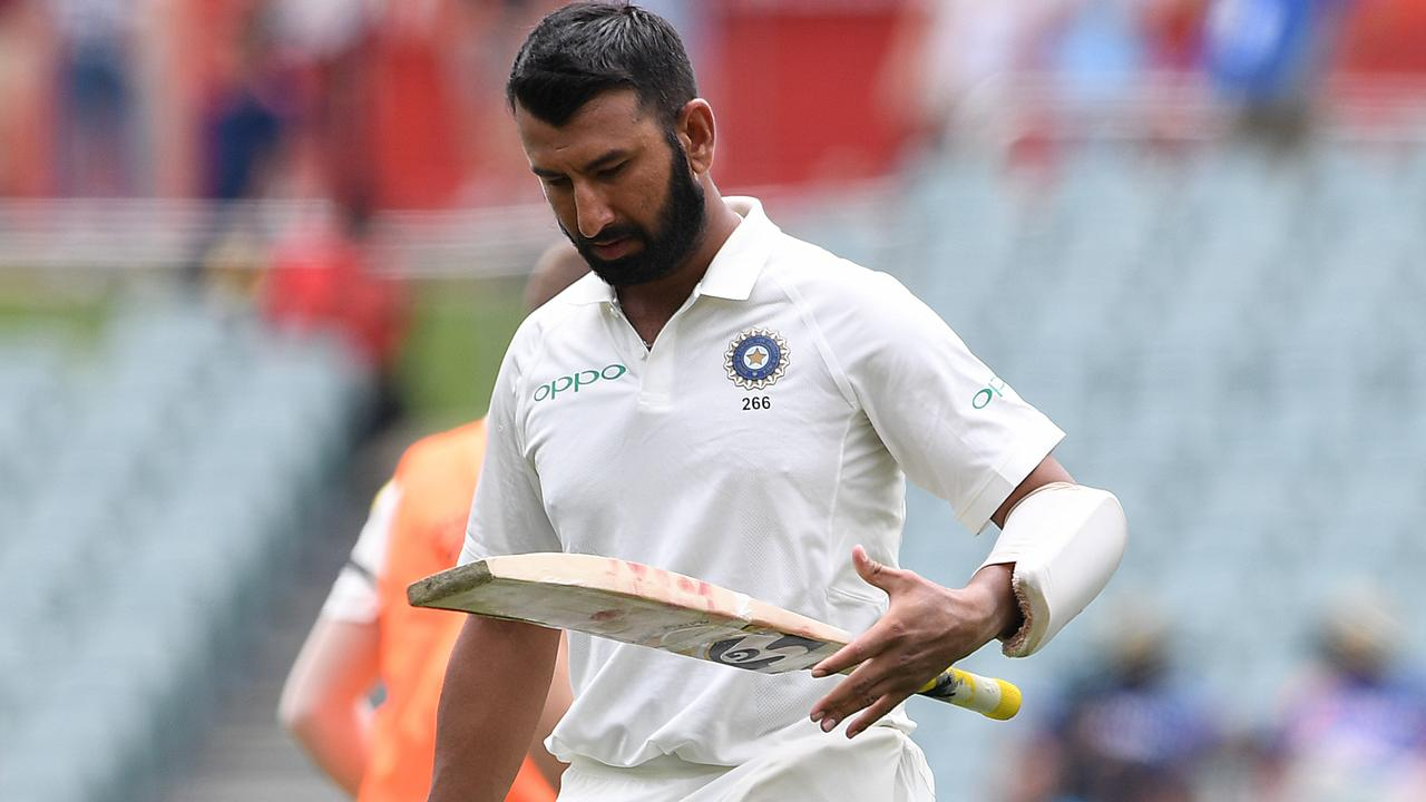 Getting Cheteshwar Pujara early is vital for Australia. Picture: AAP