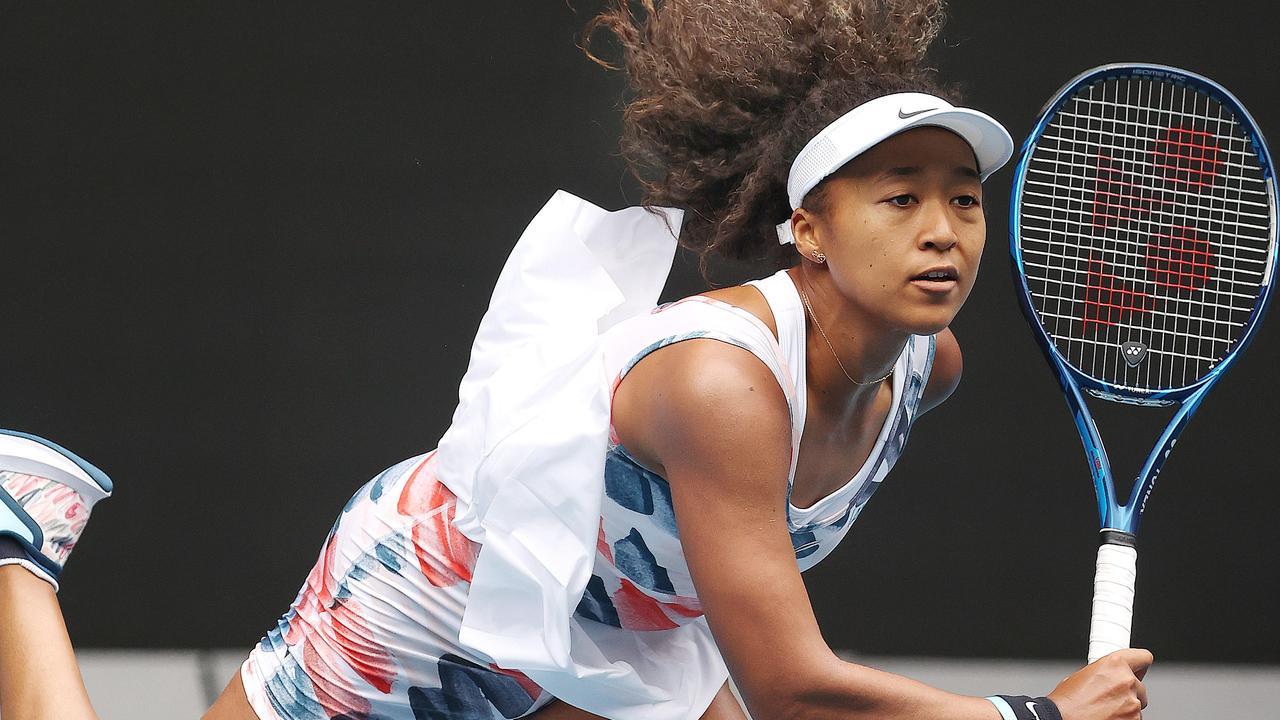 Tennis stars like Naomi Osaka are set to descend on Victoria. Picture: Michael Klein