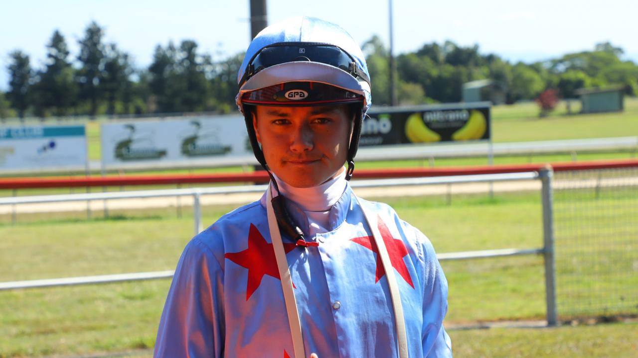 Jockey Michael Murphy will ride Better Reflection in the $32K Magic Millions Country Cup Qualifier at Friday's race meeting at Callaghan Park. Picture: Mike Mills.