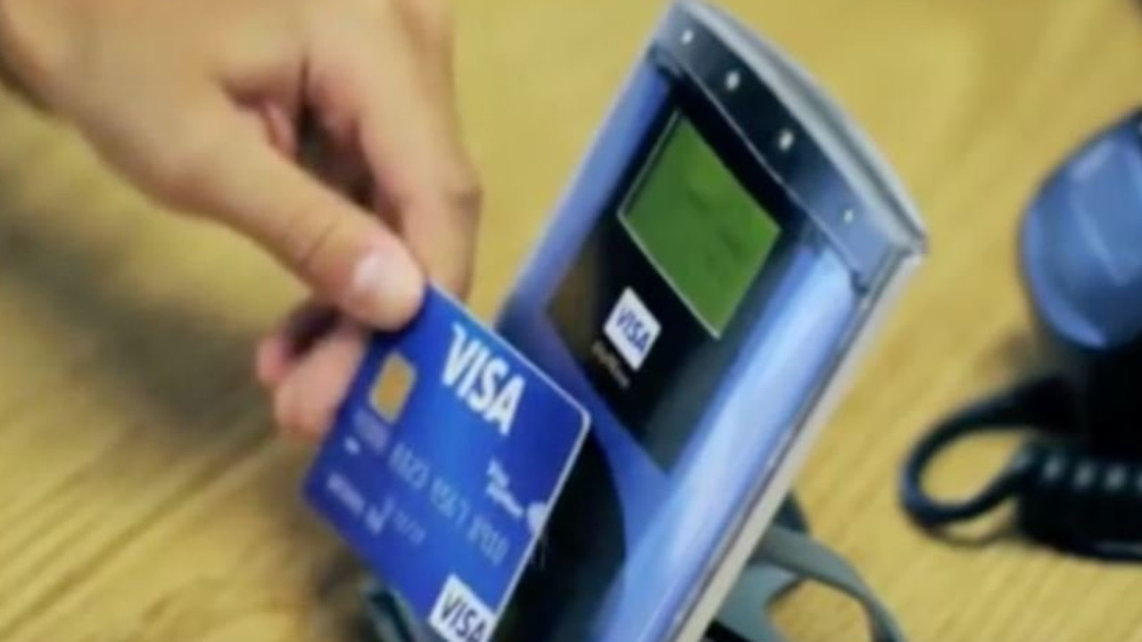 A man has been sentenced to prison after he managed to hit up five stores in less than an hour using someone else's credit card.