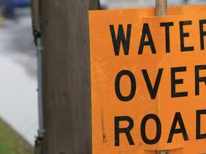LOCALISED FLOODING: Drivers urged to slow down