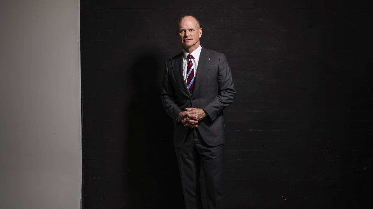 Campbell Newman. Picture: Mark Cranitch