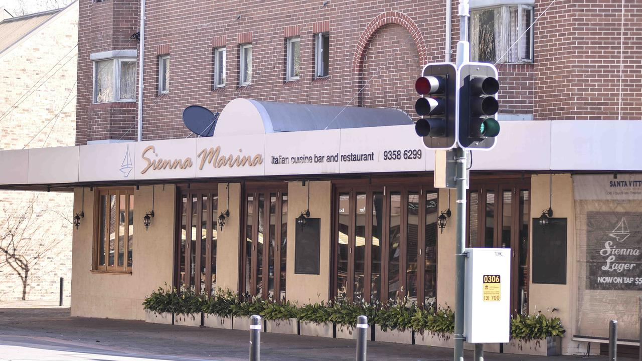 Sienna Marina Cafe at Woolloomoolo. Picture: Flavio Brancaleone