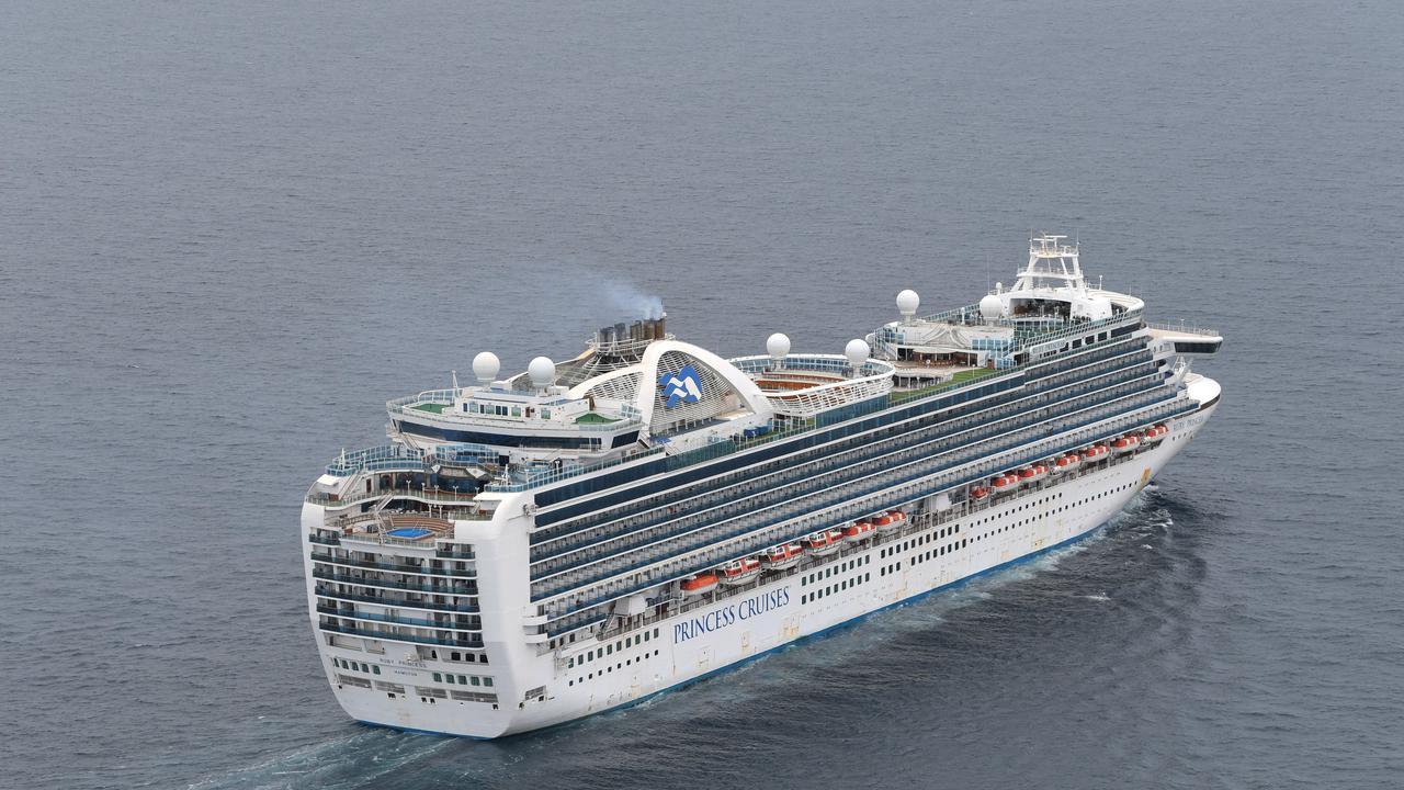 Contagious cruise ship Ruby Princess.