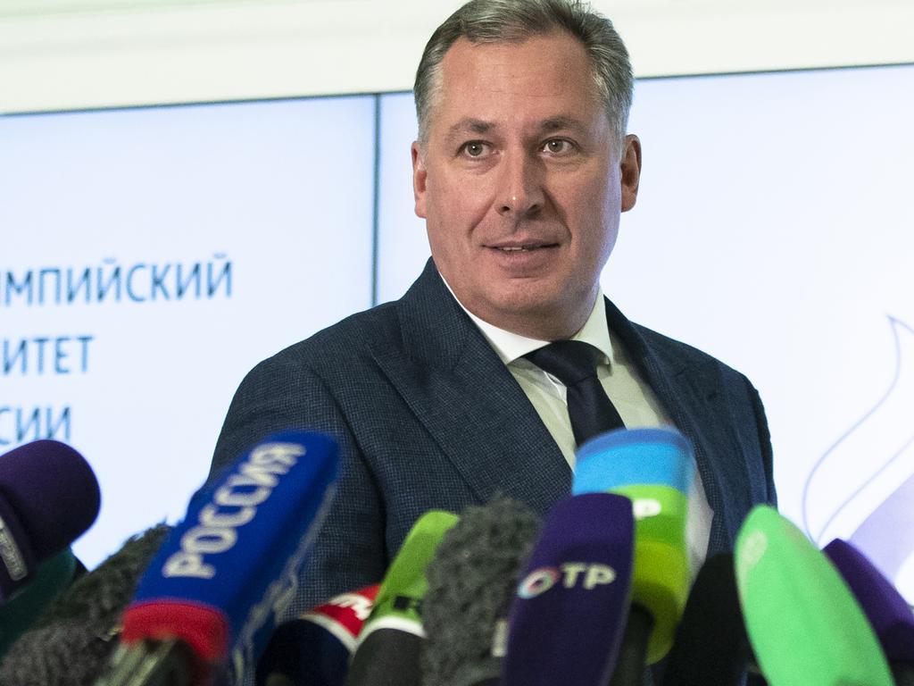 President of the Russian Olympic Committee Stanislav Pozdnyakov. Picture: Pavel Golovkin