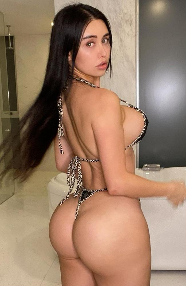 OnlyFans star Joselyn Cano died earlier this month. Picture: Instagram