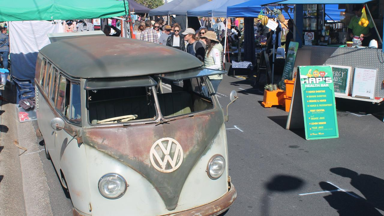 GREAT VIBE: A Volksawgen Kombi van was on display at the northern entrance to the Love Lennox Festival 2018.