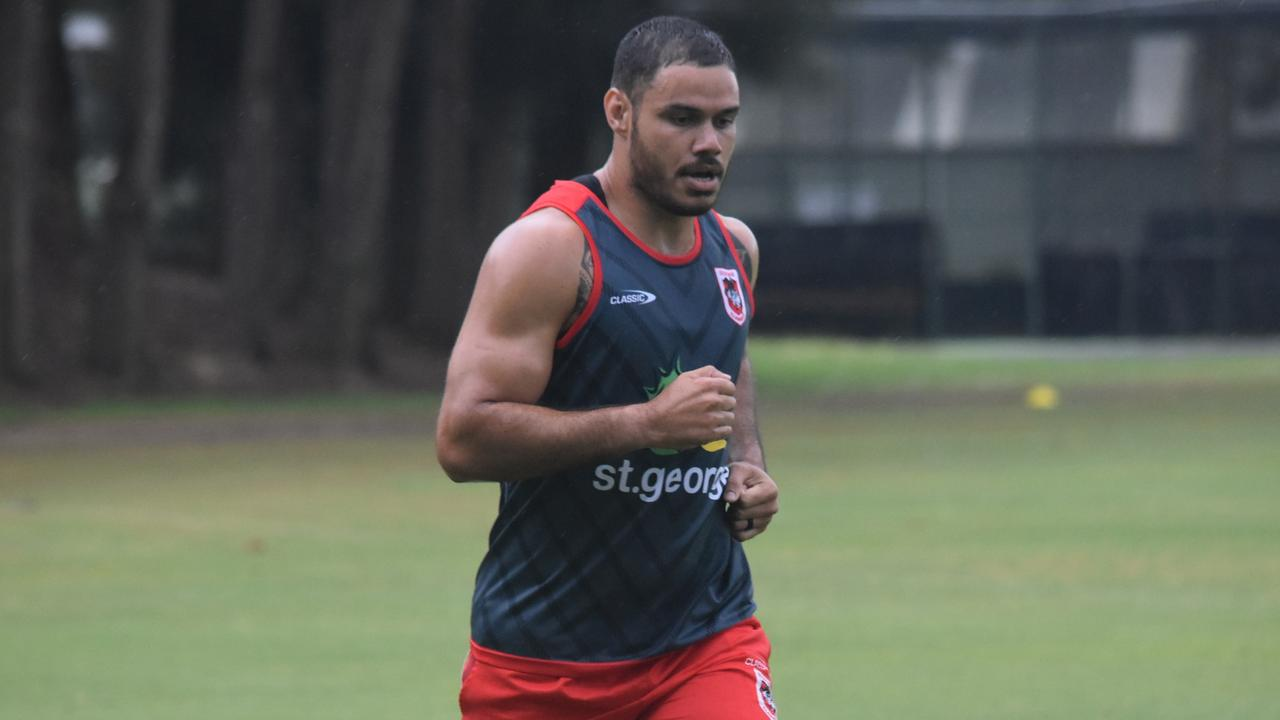Brayden Wiliame is keen to win back his starting sport in the centres next season. Picture: Dragons Media