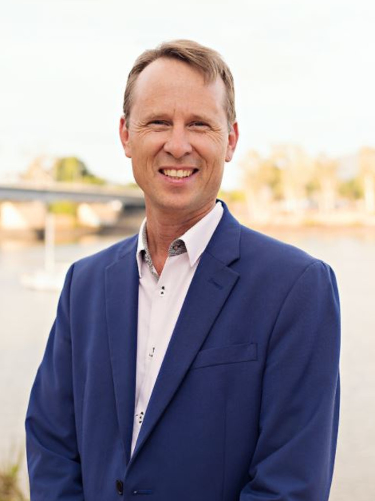 John Rewald is the latest candidate to step forward in the campaign to be Rockhampton region's next mayor. Picture: Contributed