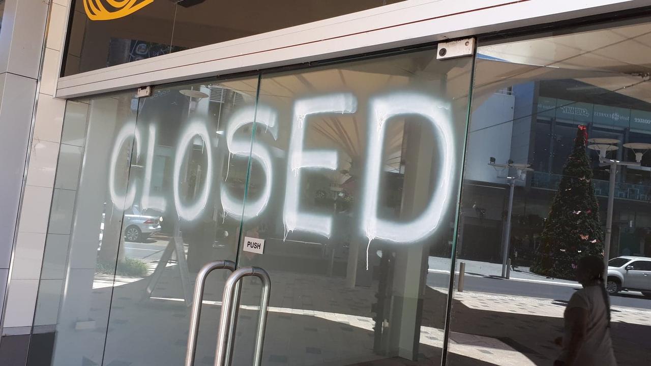 Several Coffs Harbour CBD shops sit empty. Photo: Janine Watson