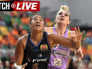 Replay: WNBL: Townsville Fire vs Melbourne Boomers Preliminary Final