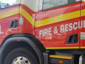 Fireys called to backyard burn in South Rocky