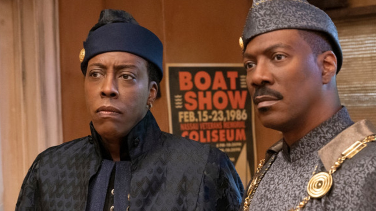 Have we mentioned how Eddie Murphy has not aged? Picture: Amazon Studios.