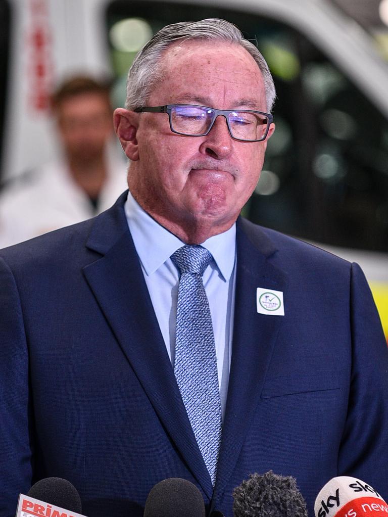NSW Health Minister Brad Hazzard. Picture: NCA NewsWire