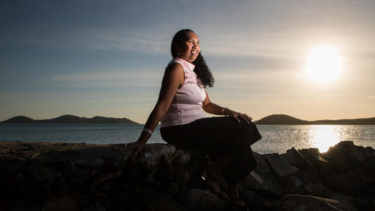 Cr Vonda Malone, Mayor of the Torres Shire Council, on Thursday Island in the Torres Strait. Picture: Marc McCormack